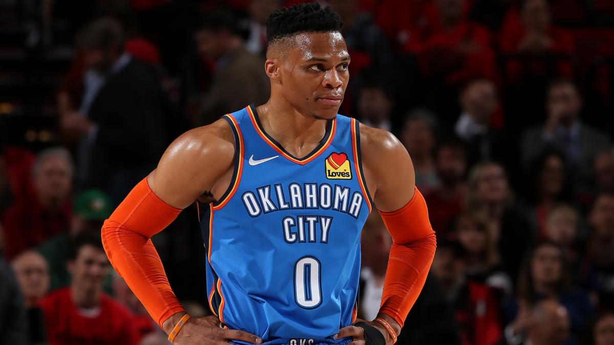 Russel Westbrook Oklahoma City Thunder