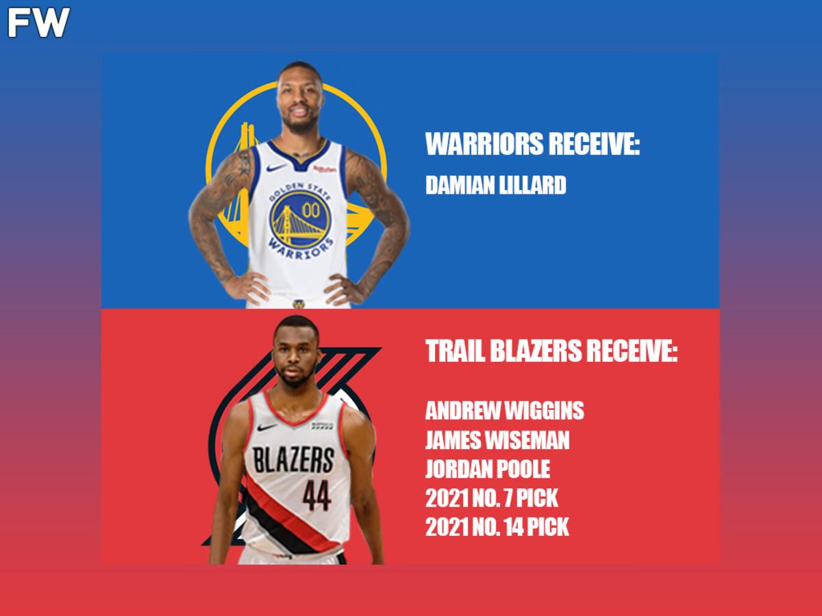 Damian Lillard - Golden State Warriors