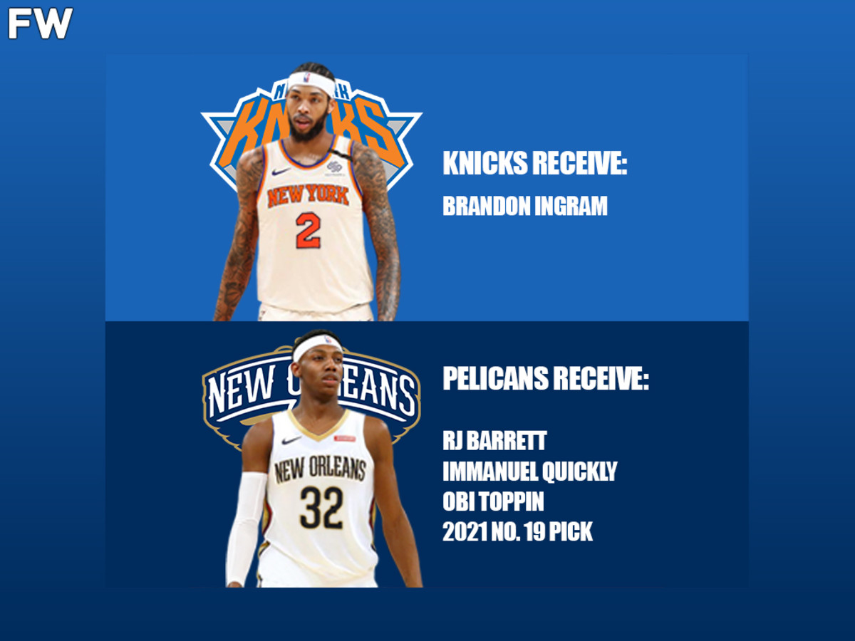 Brandon Ingram - New York Knicks