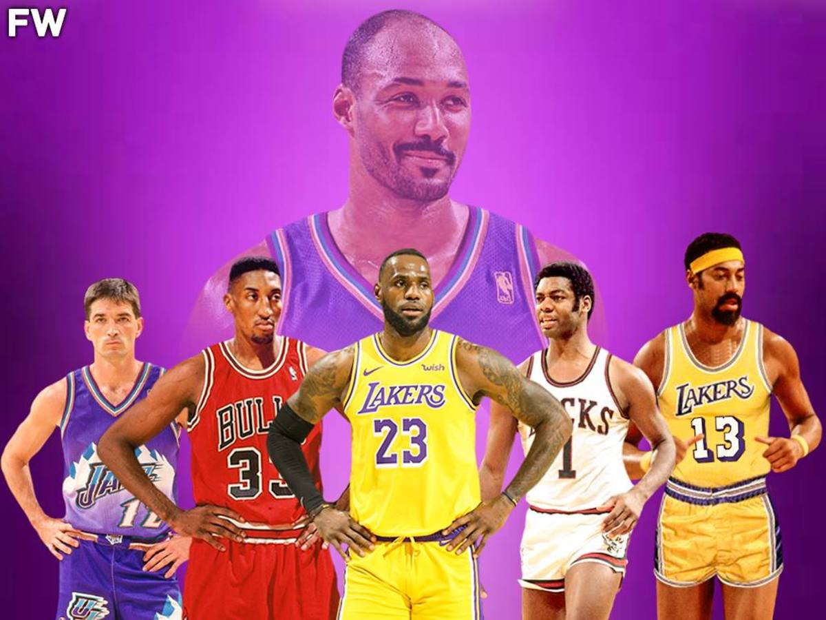 """Karl Malone Didn't Want To Select Michael Jordan In His All-Time Starting 5: 'Scottie Pippen Lead The Team In Every Statistical Category Without Michael Jordan"""""""