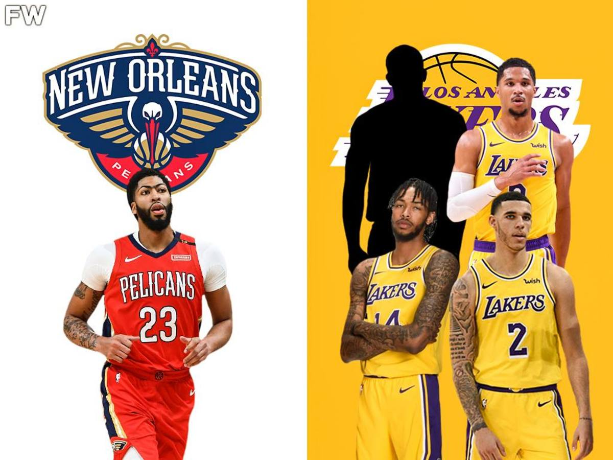 Would The Lakers Trade Anthony Davis For Brandon Ingram, Lonzo Ball, Josh Hart, And No. 17 Pick?