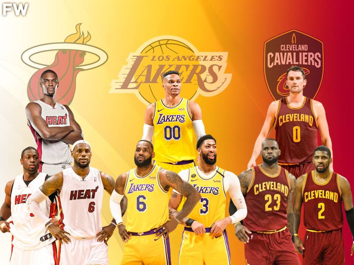 LeBron James Will Have Another Superteam To Win The Championship: Russell Westbrook Joins A List Of Superstar Teammates