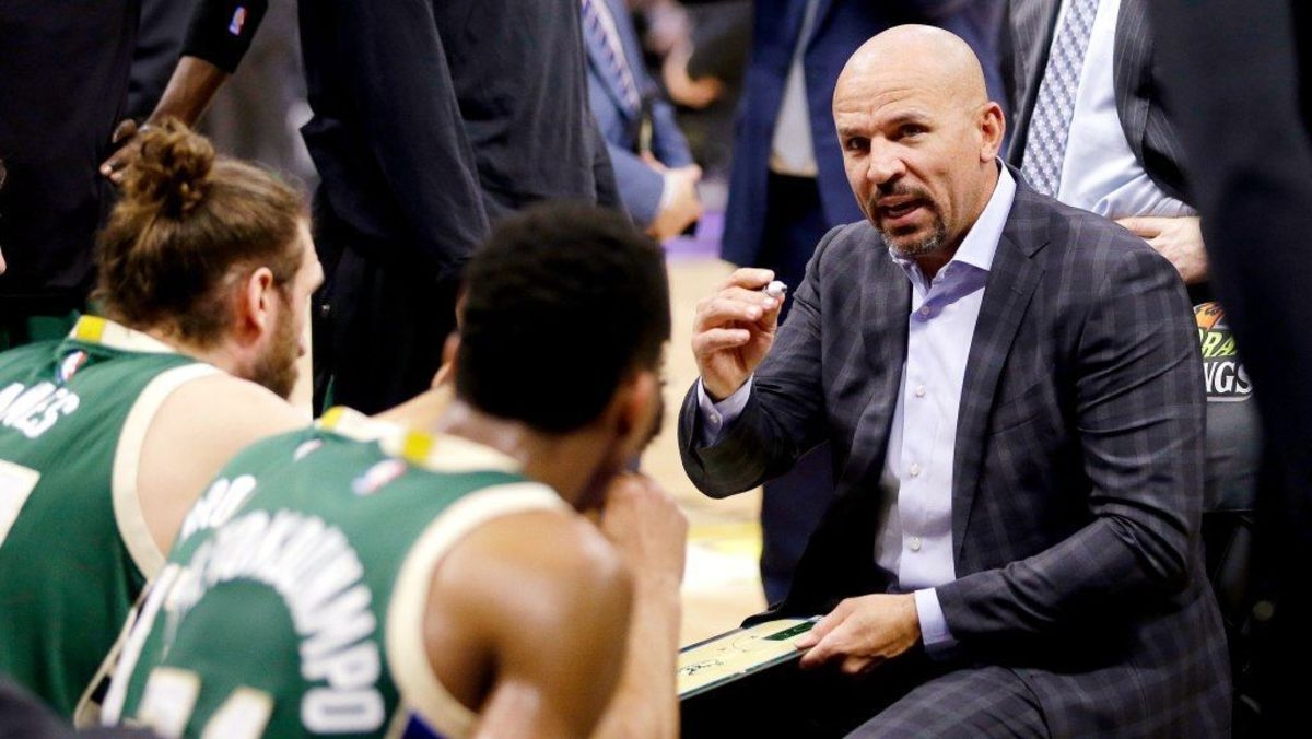 Jason Kidd Punished The Entire Bucks Team Because Thon Maker Had An Android Phone That Caused A Group Chat Error