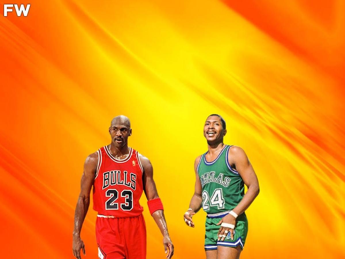 Michael Jordan vs. Mark Aguirre