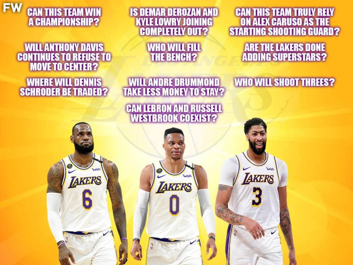 10 Biggest Questions Surrounding The Lakers After The Russell Westbrook Trade
