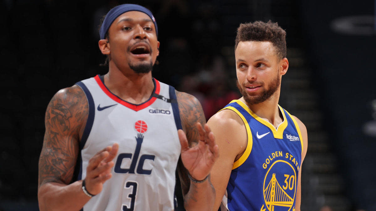 Bradley Beal and Stephen Curry