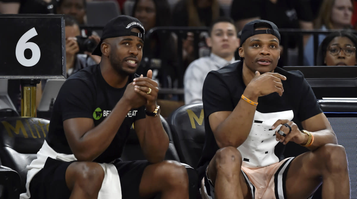 Chris Paul and Russell Westbrook Spotted Hanging Out In L.A. Just Days After Blockbuster Trade