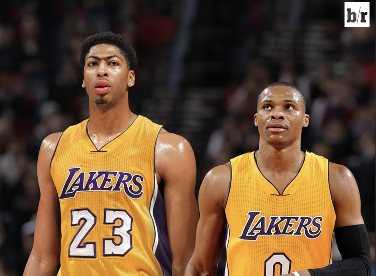 Bleacher Report Predicted That Anthony Davis And Russell Westbrook Would Team Up Together In 2017