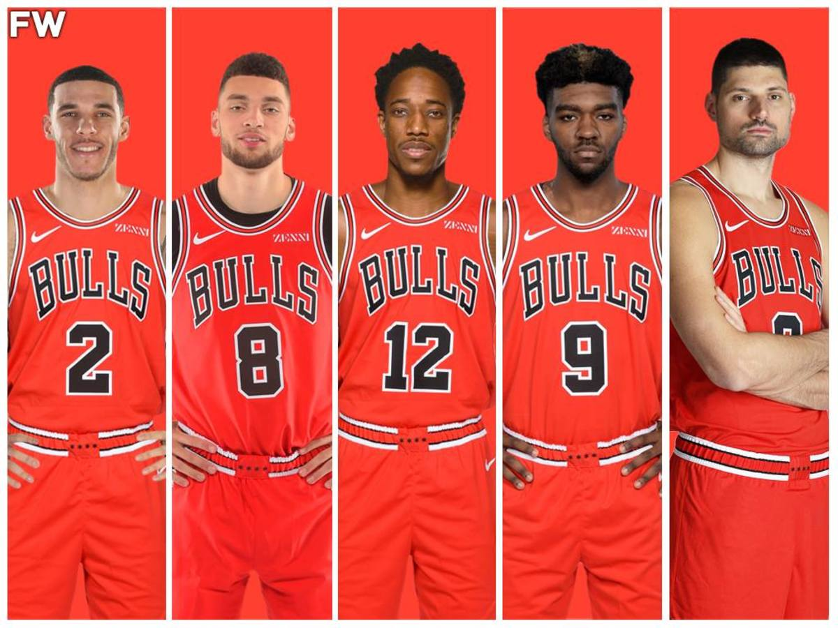 The Chicago Bulls Potential Starting Lineup Could Be Star-Studded With Addition Of DeMar DeRozan