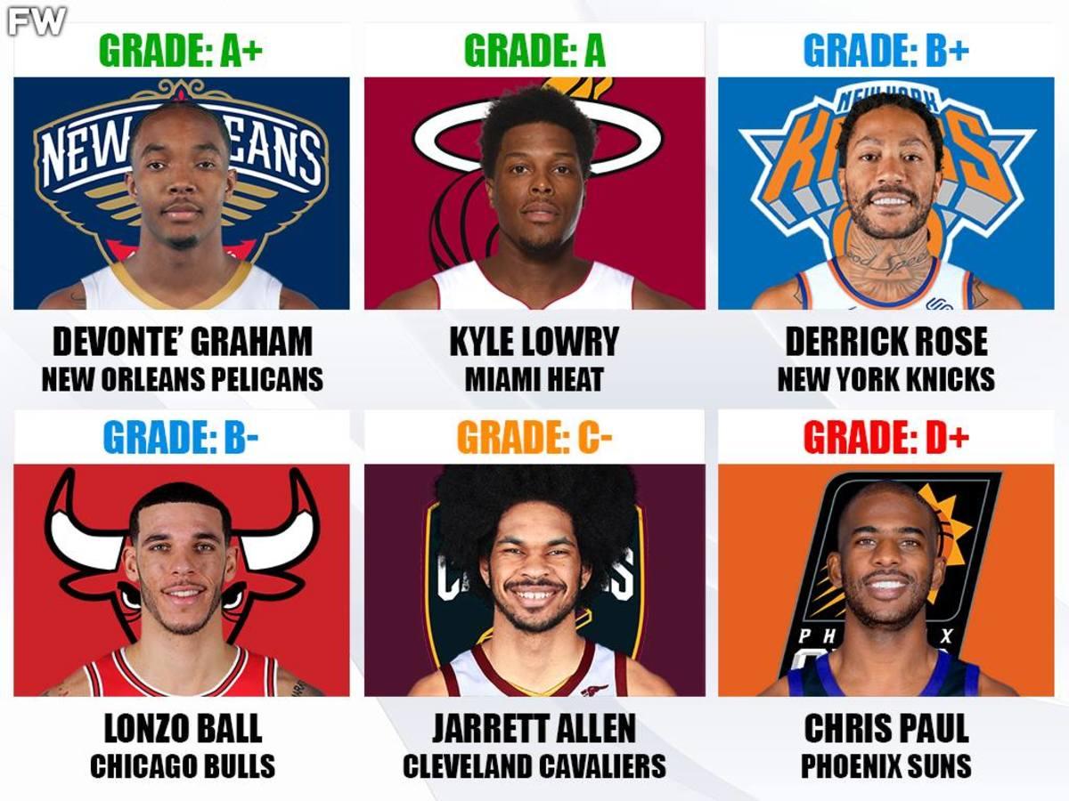NBA Free Agency Grades: Mike Conley, Chris Paul, And Lonzo Ball Kickstart The Frenzy