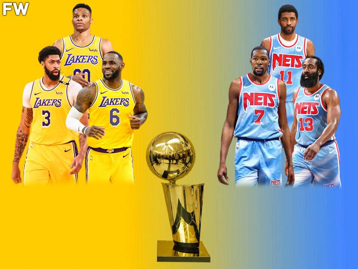 The Perfect Scenario For The 2021-22 NBA Season: Lakers Beat The Nets In 7 Games, Westbrook Wins His First Ring