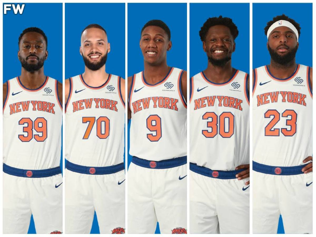 The New York Knicks Starting Lineup Could Make Some Noise In The East Next  Season - Fadeaway World