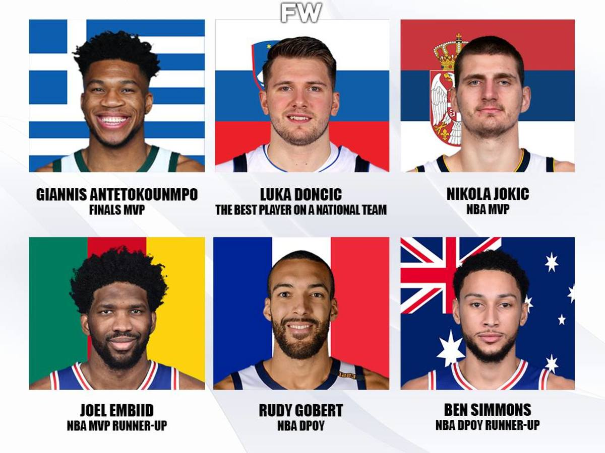 International Players Dominate USA Players In The NBA: Giannis Won The Championship, Jokic Is MVP, Gobert Is DPOY, Doncic Dominates With National Team