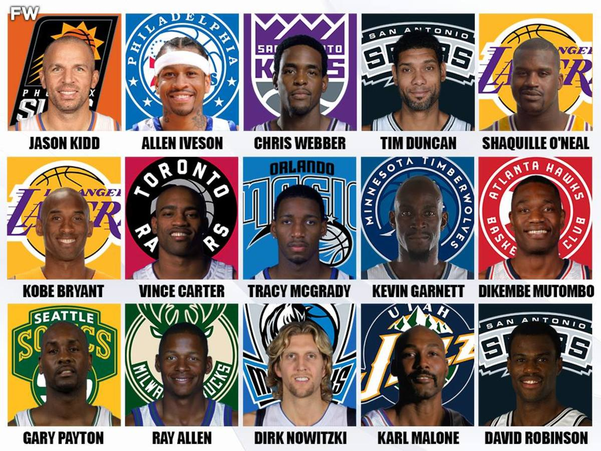 2000-2001 All-NBA Teams: These Three Squads Were Stacked