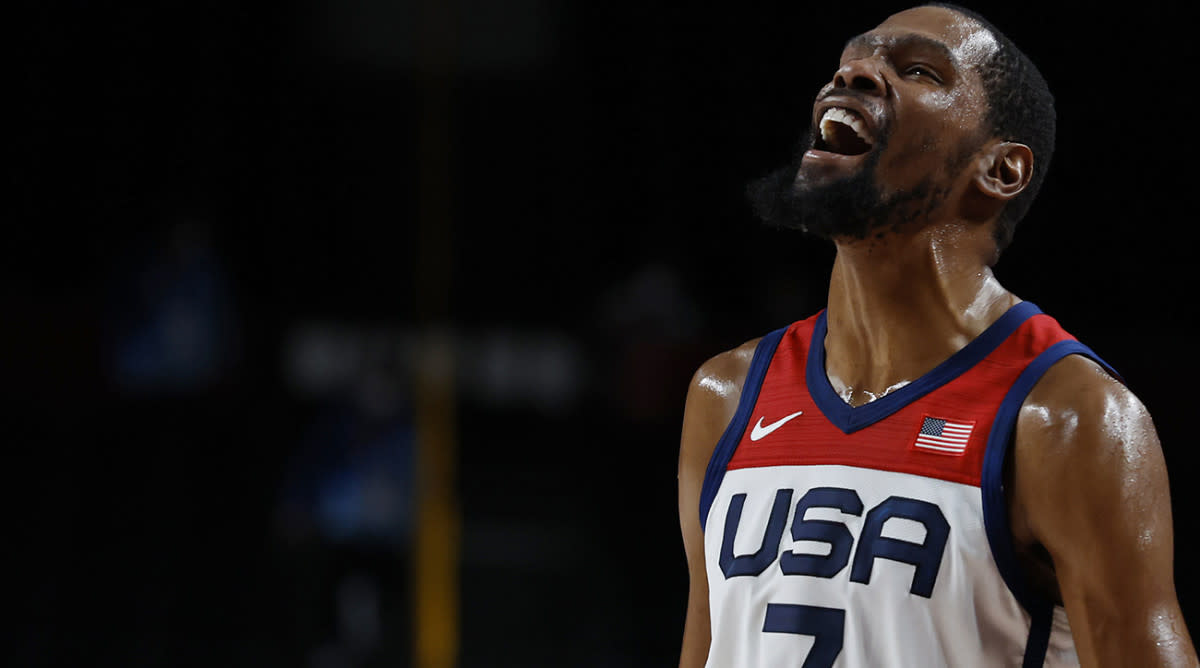 """""""We Went Through Some Real Adversity""""- Kevin Durant Reacts After Winning Third Gold Medal"""