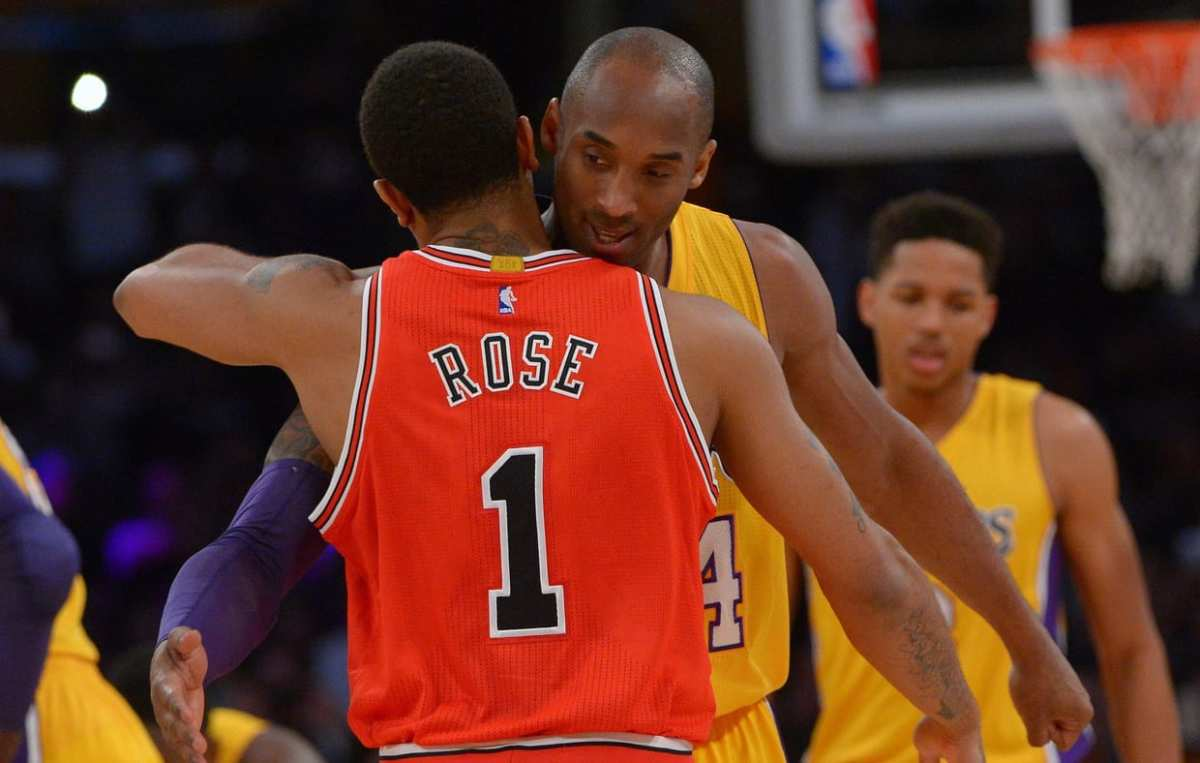 Kobe Bryant On Derrick Rose's Work Ethic: 'He Came In When Nobody Said He Could Shoot, Just Like That, One Summer He Has A Jump Shot, That Doesn't Happen Over Night.'