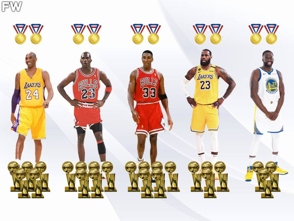 The Only NBA Players With 3 Rings and 2 Gold Medals: Draymond Green Joins 4 Hall of Famers
