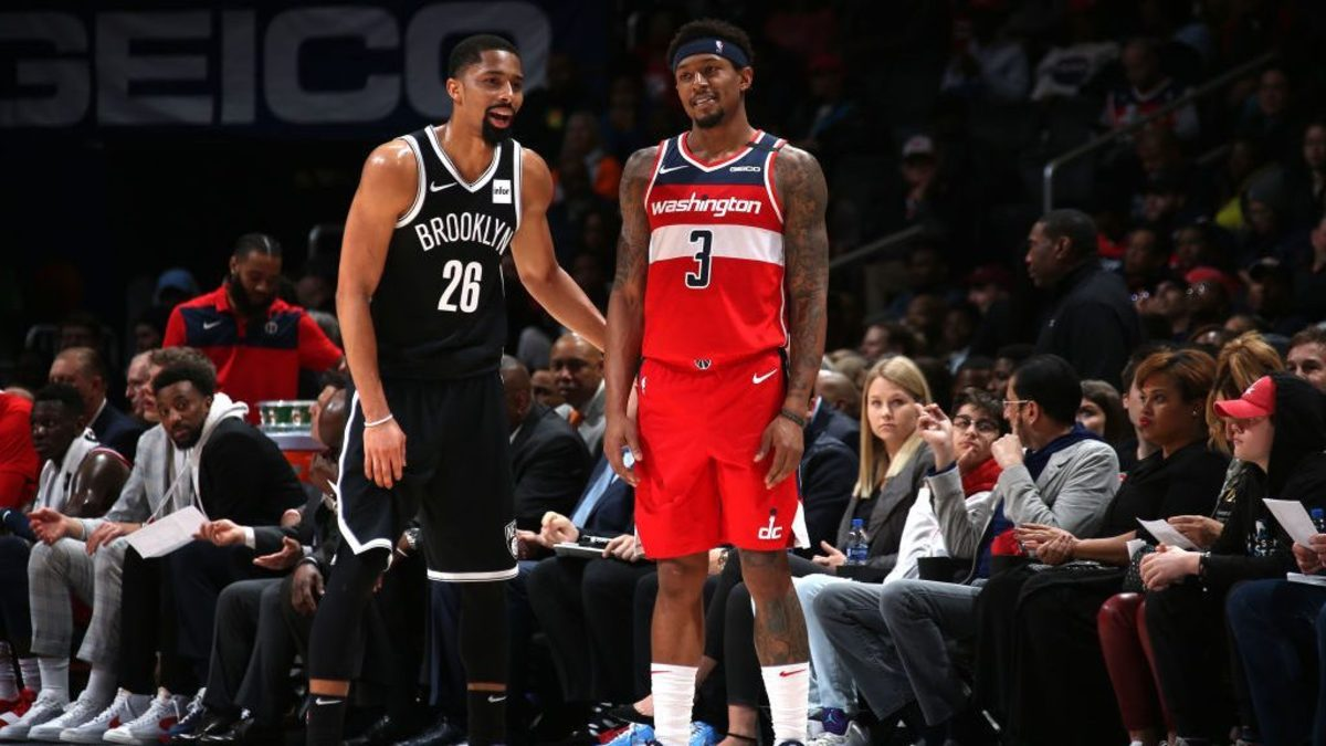 """Spencer Dinwiddie Makes Fun Of Lakers And Heat- """"They're The Ones Tampering..."""""""