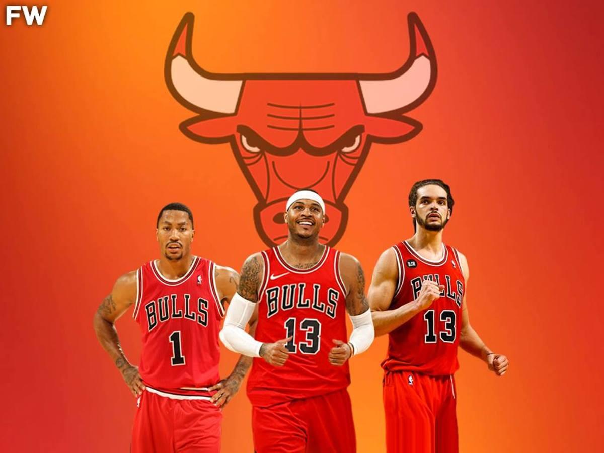Carmelo Anthony, Derrick Rose, Joaim Noah, Chicago Bulls