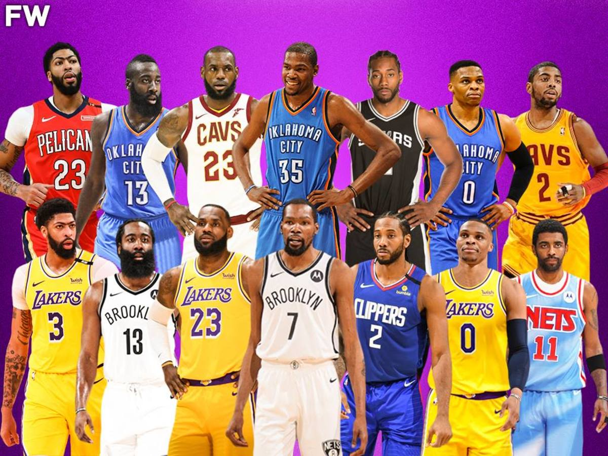 The Best NBA Players That Left Their Original Teams: LeBron James and Kevin Durant Started A New Era
