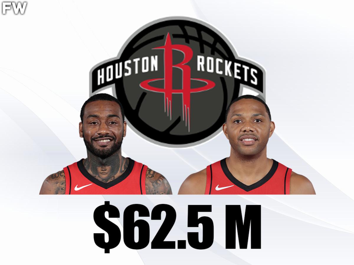 John Wall And Eric Gordon - $62.5 million