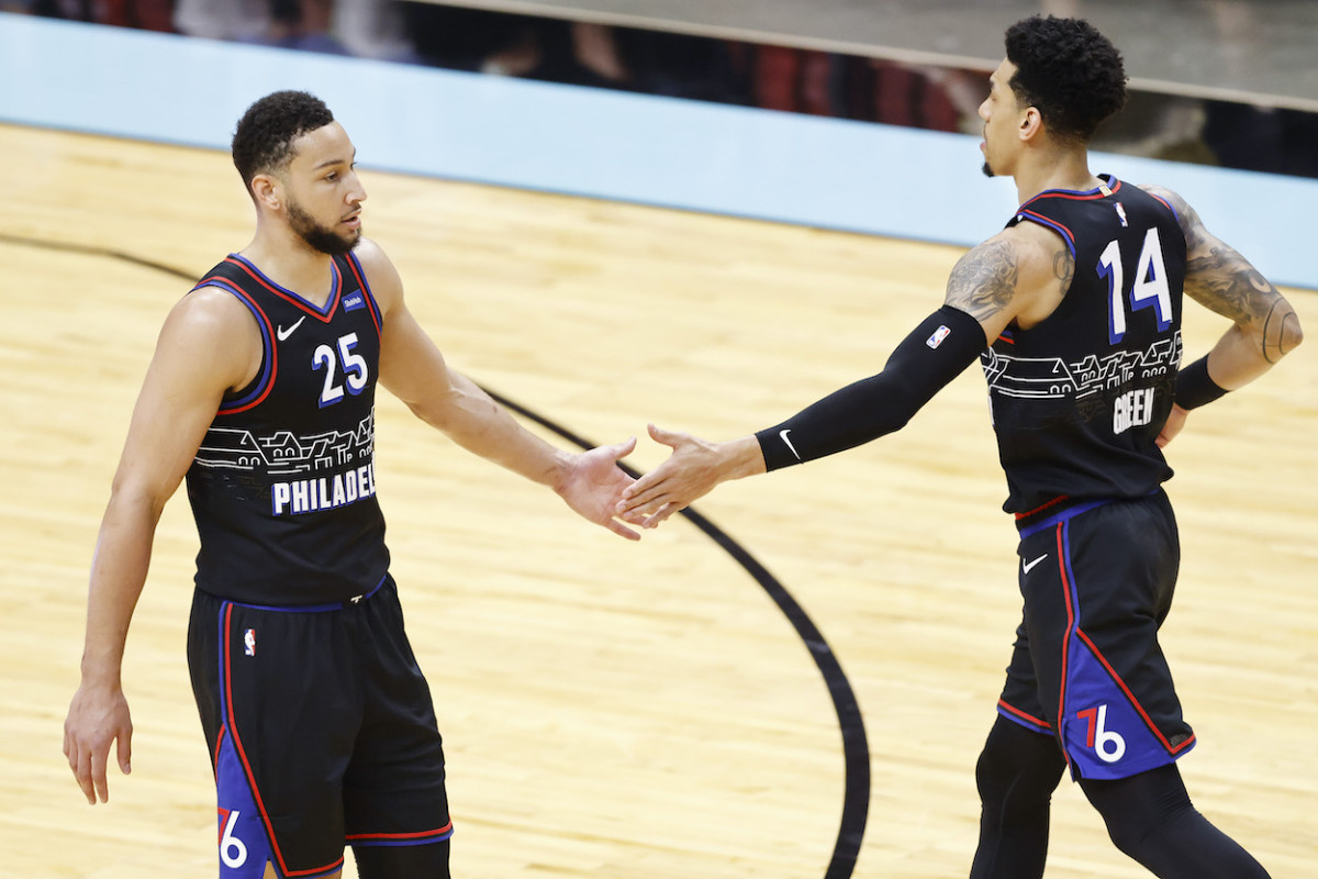 """Danny Green On Ben Simmons Trade Rumors- """"There's An Opportunity For You To Find Of Reinvent Yourself."""""""