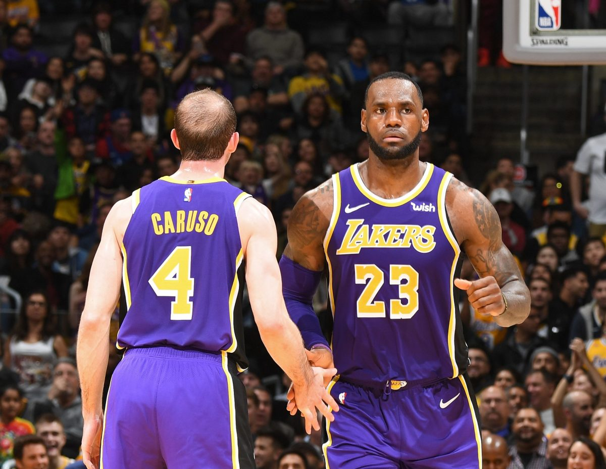 Alex Caruso Says He'll Miss Throwing Lobs To LeBron James