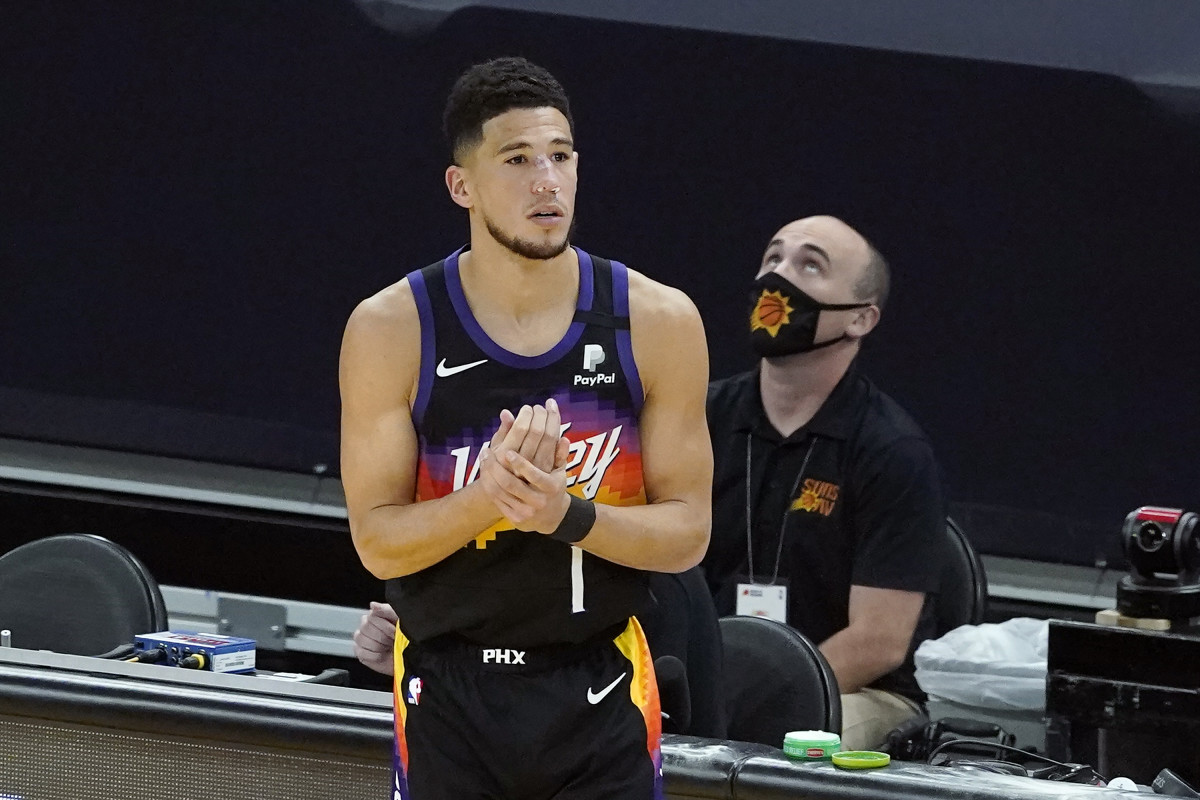 NBA Rumors- Devin Booker Was Dealing With Surprise Injury During NBA Finals