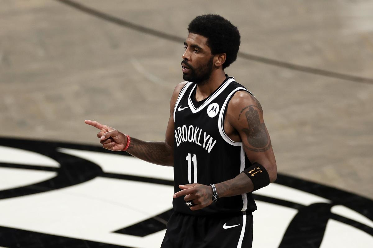 Kyrie Irving Gives Hilarious Response To Fan Who Says He Can Lock Him Up