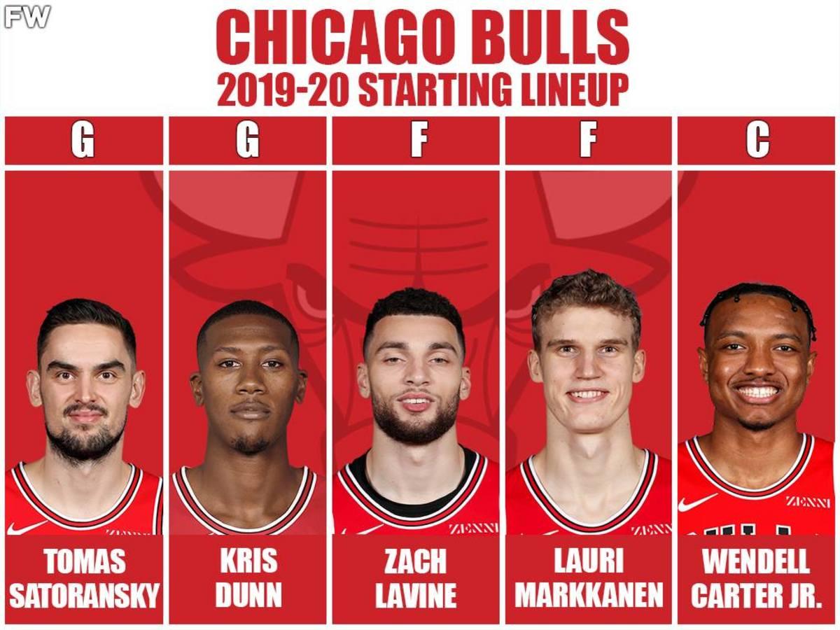 2019/2020 Starting Lineup: Tomas Satoransky, Kris Dunn, Zach LaVine, Lauri Markkanen, Wendell Carter Jr.