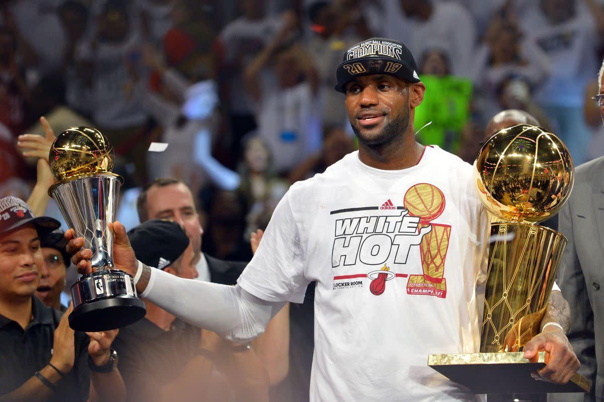 2013 NBA Champion LeBron James
