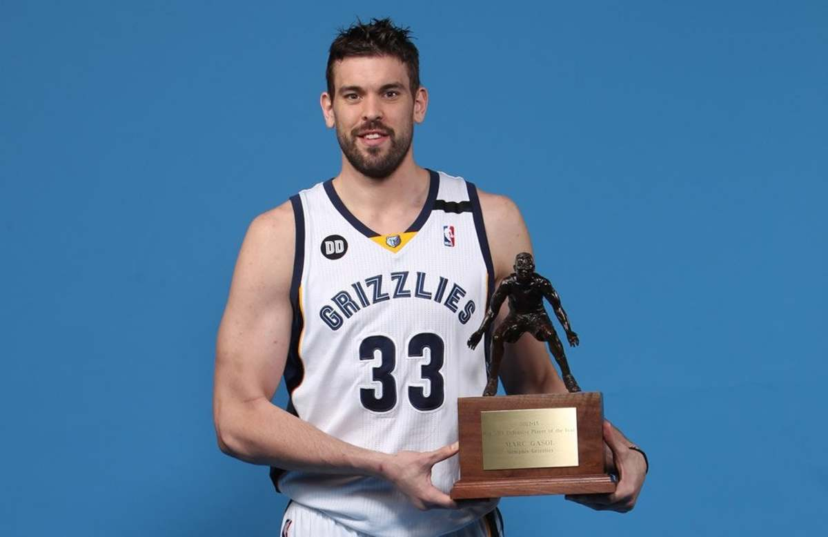 2nd In DPOY - Marc Gasol Win DPOY Despite Not Making All-Defensive First Team