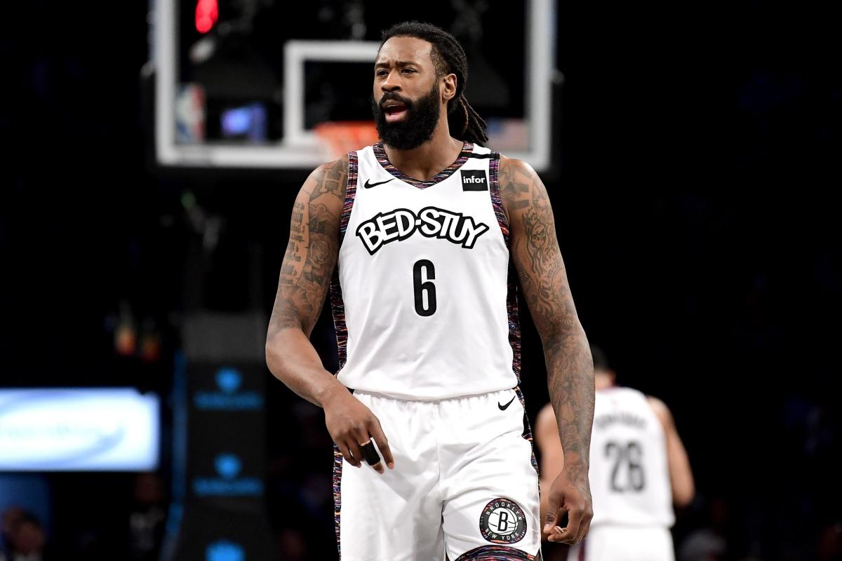 """Nets GM Sean Marks On The Future Of DeAndre Jordan- """"I Think With All Of Our Guys There's Always Discussions."""""""