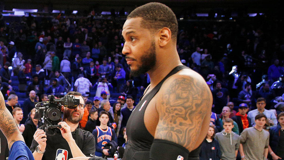 """Carmelo Anthony Believes There Is No Loyalty In Sports: """"You're An Athlete, That's Your Profession, You Get Paid To Do That"""""""