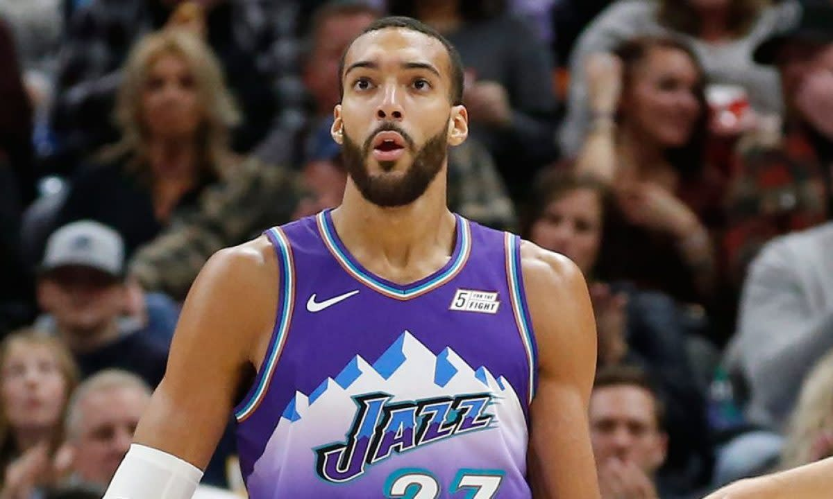 Rudy Gobert Is The Only Starting Center In The NBA Averaging Less Than 30% From 3-Point Line