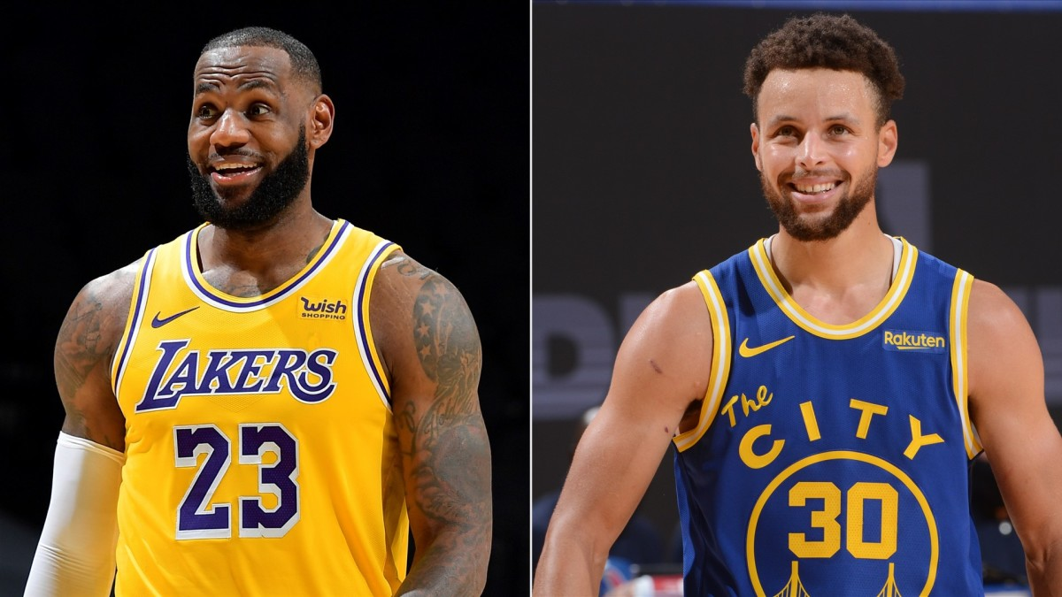 LeBron James Says Stephen Curry Should Have 99 Overall Rating In NBA 2K22