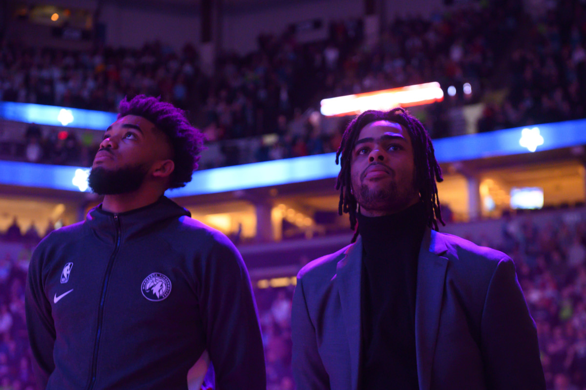 """Wolves Coach Chris Finch On Karl-Anthony Towns And D'Angelo Russell- """"There Is A Deep And Genuine Motivation To Have Their Best Offseason Ever."""""""