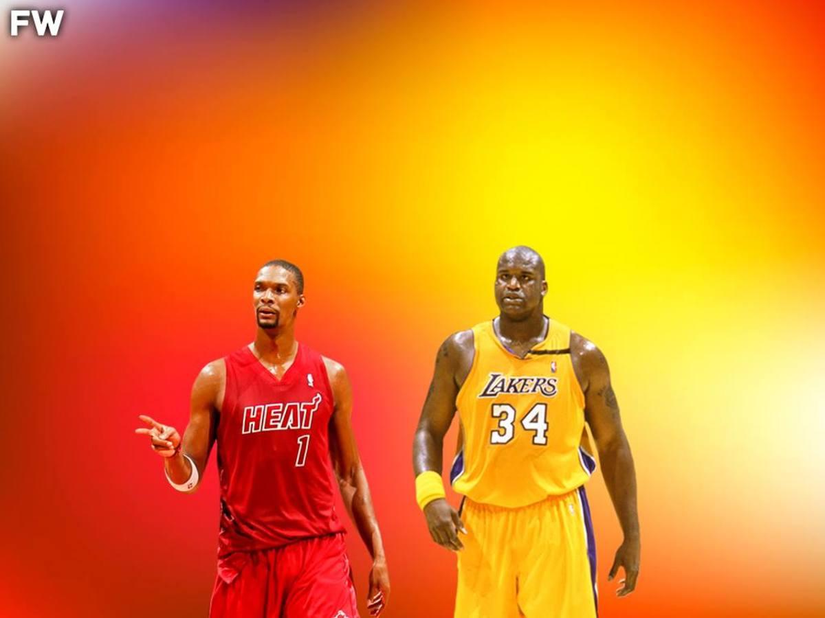Chris Bosh vs. Shaquille O'Neal