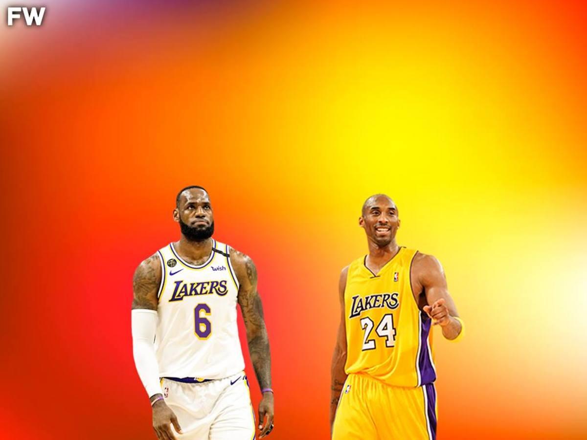 LeBron James vs. Kobe Bryant