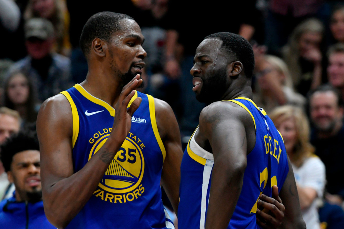 Kendrick Perkins On Kevin Durant And Draymond Green's Interview: KD And Draymond Didn't Hold Themselves Accountable