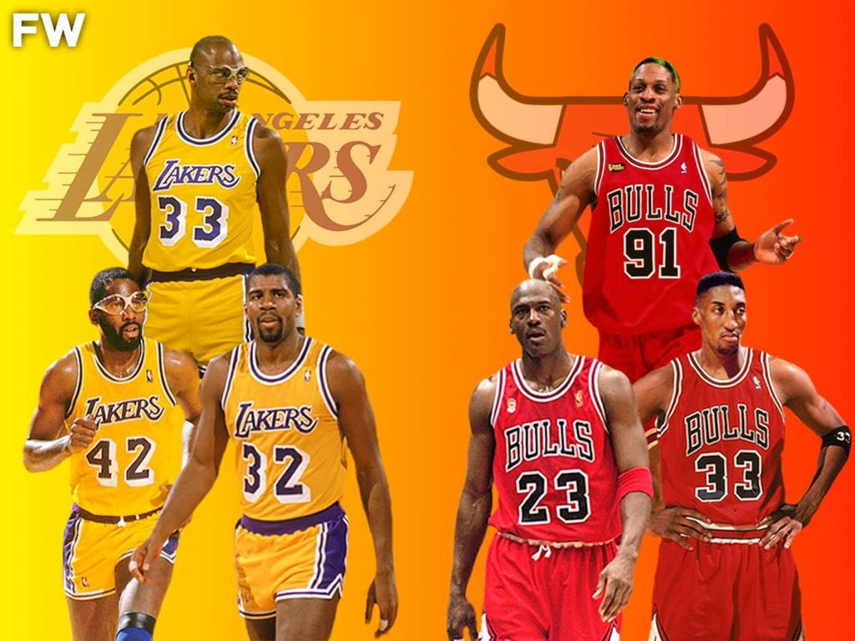 """Magic Johnson Said '87 Lakers Would Beat '96 Bulls: """"Sometimes The Bulls Rely On Michael Too Much"""""""