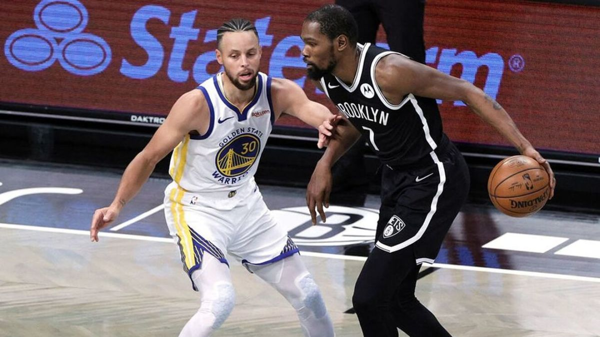 Stephen Curry vs. Kevin Durant