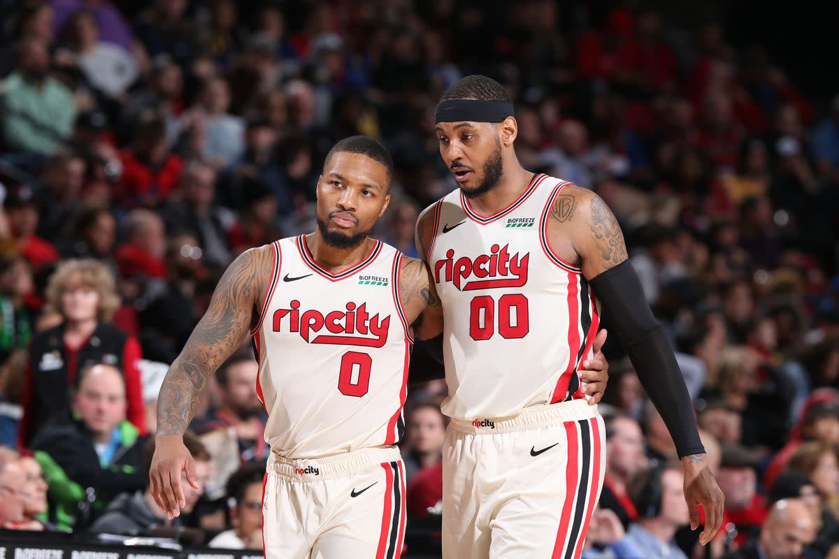 """Carmelo Anthony: """"Dame Is The Real One,"""" Damain Lillard Acknowledges The Praise"""