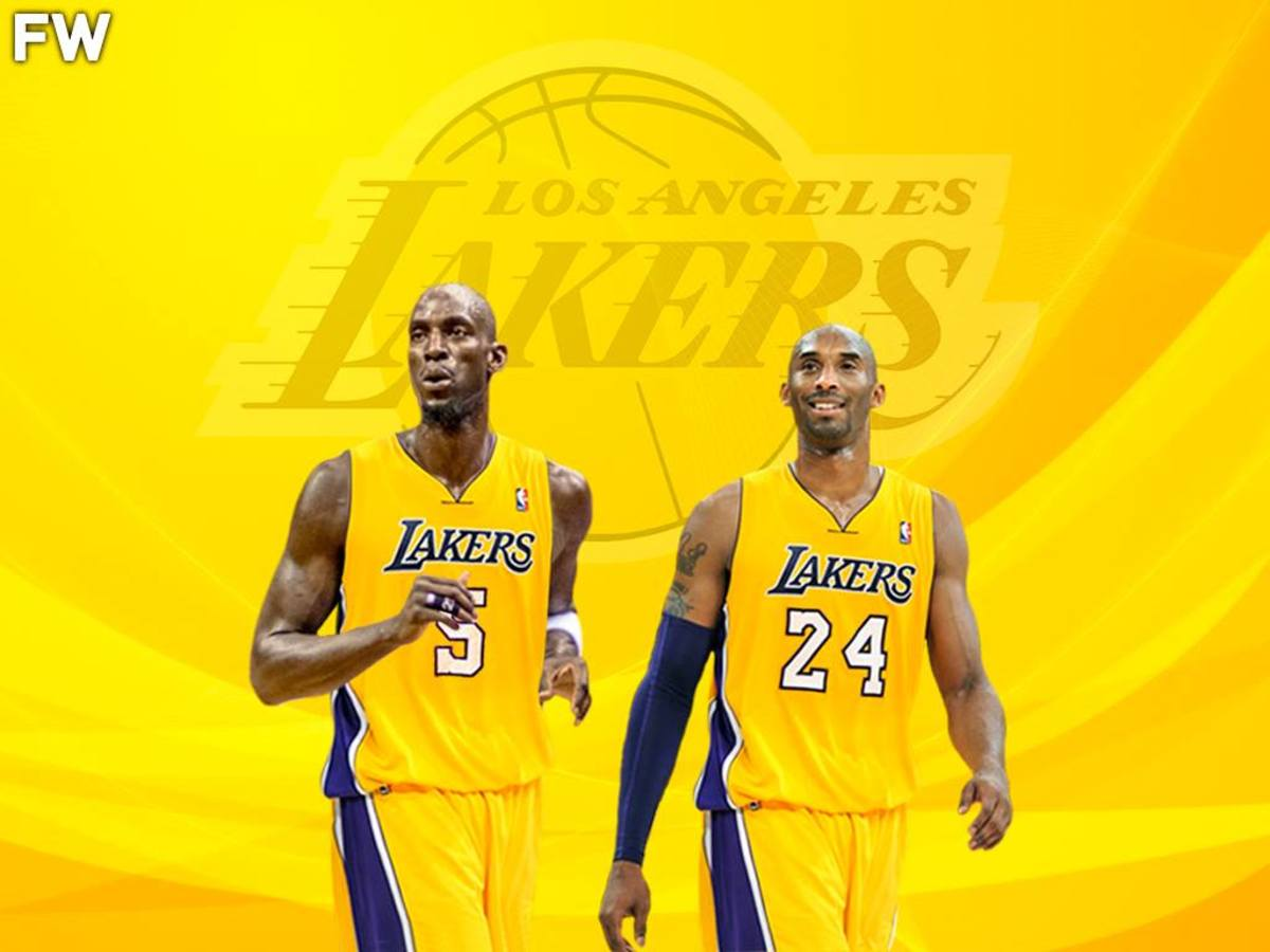 """Kevin Garnett Reveals He Tried Reaching Kobe Bryant About Joining The Lakers In 2007, But Kobe Never Responded: """"After My 20th Time, I Figured Enough Was Enough"""""""