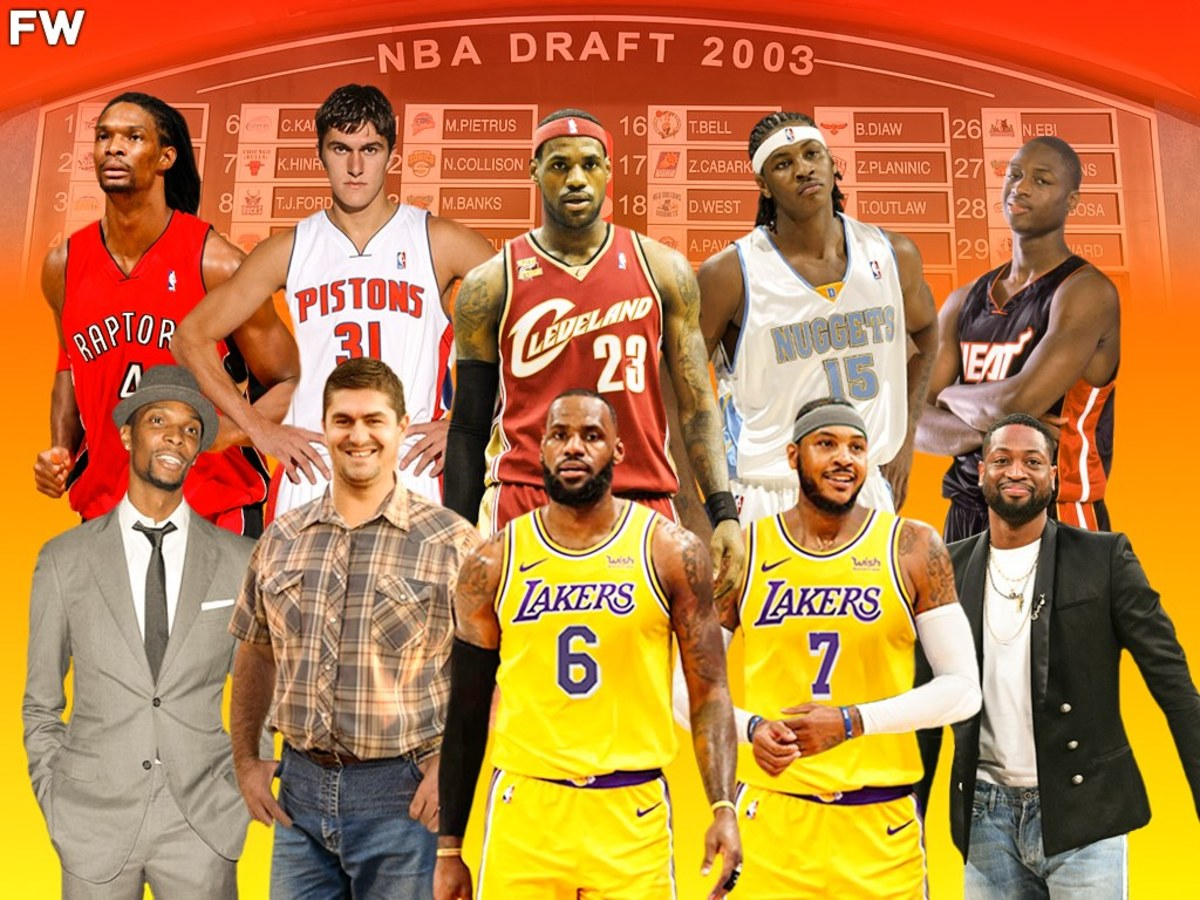 Top 10 Draft Picks From The 2003 NBA Draft: Where Are They Now?