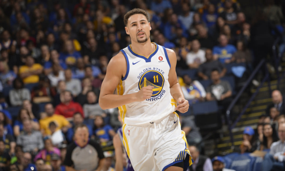 """Klay Thompson Is Putting In A Lot Of Effort For His NBA Comeback: """"Can't Wait To Hoop Again"""""""