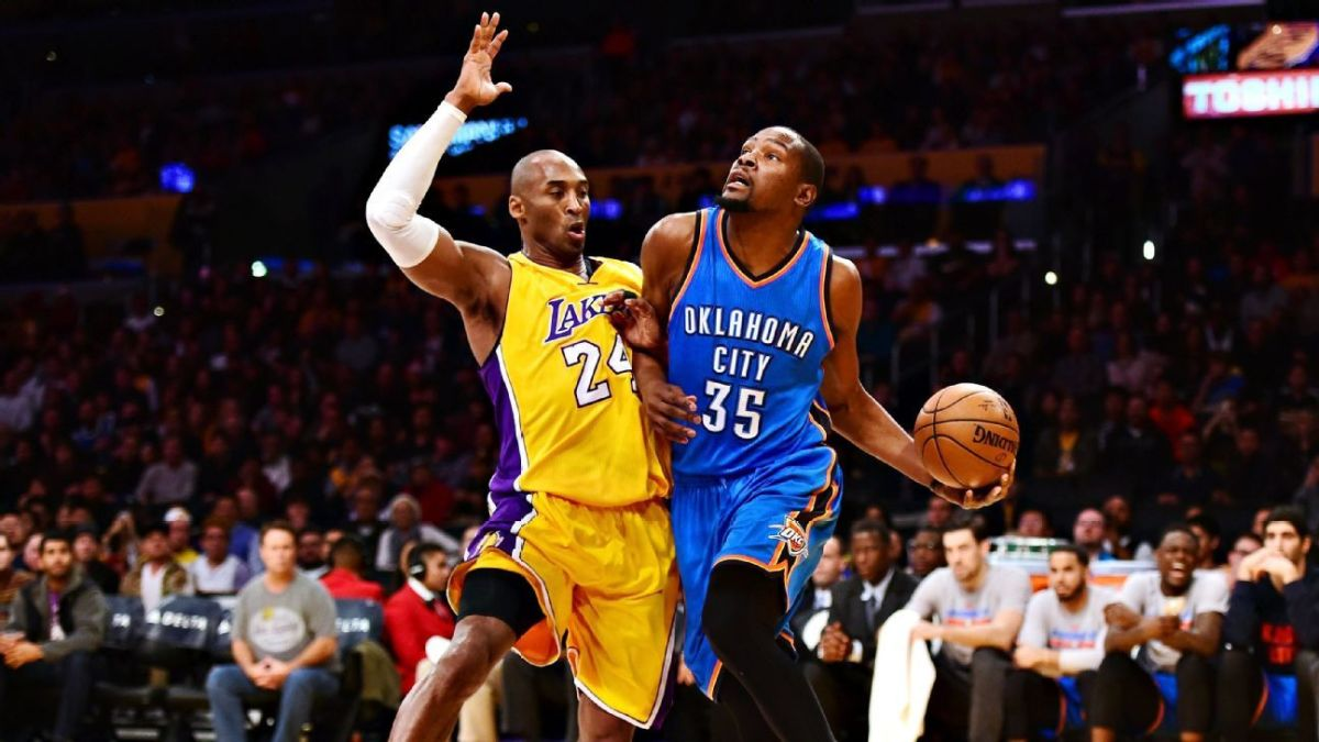 Kevin Durant Stole The Ball And Made The Game-Winning Shot Against Kobe Bryant And The Lakers