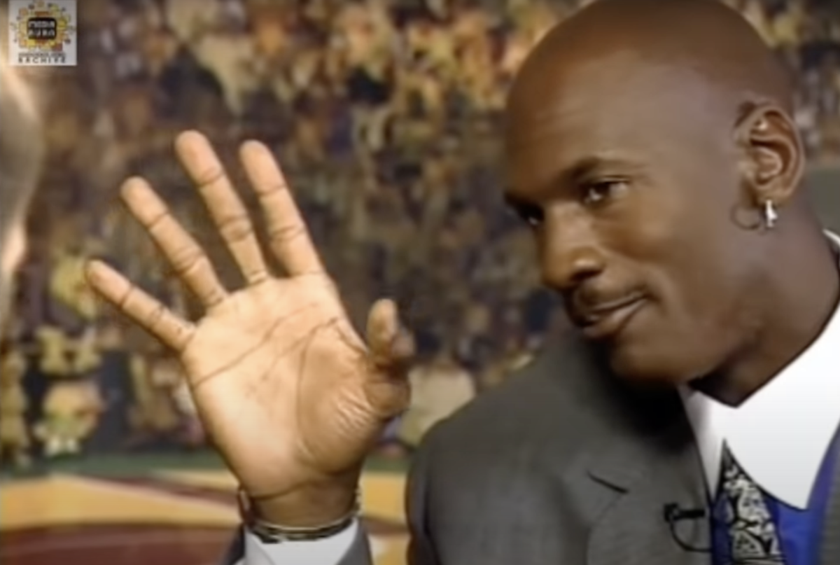 """Michael Jordan Explains The Importance Of His Hands To His Game: """"That's Like Having A Paintbrush And Being Able To Create."""""""