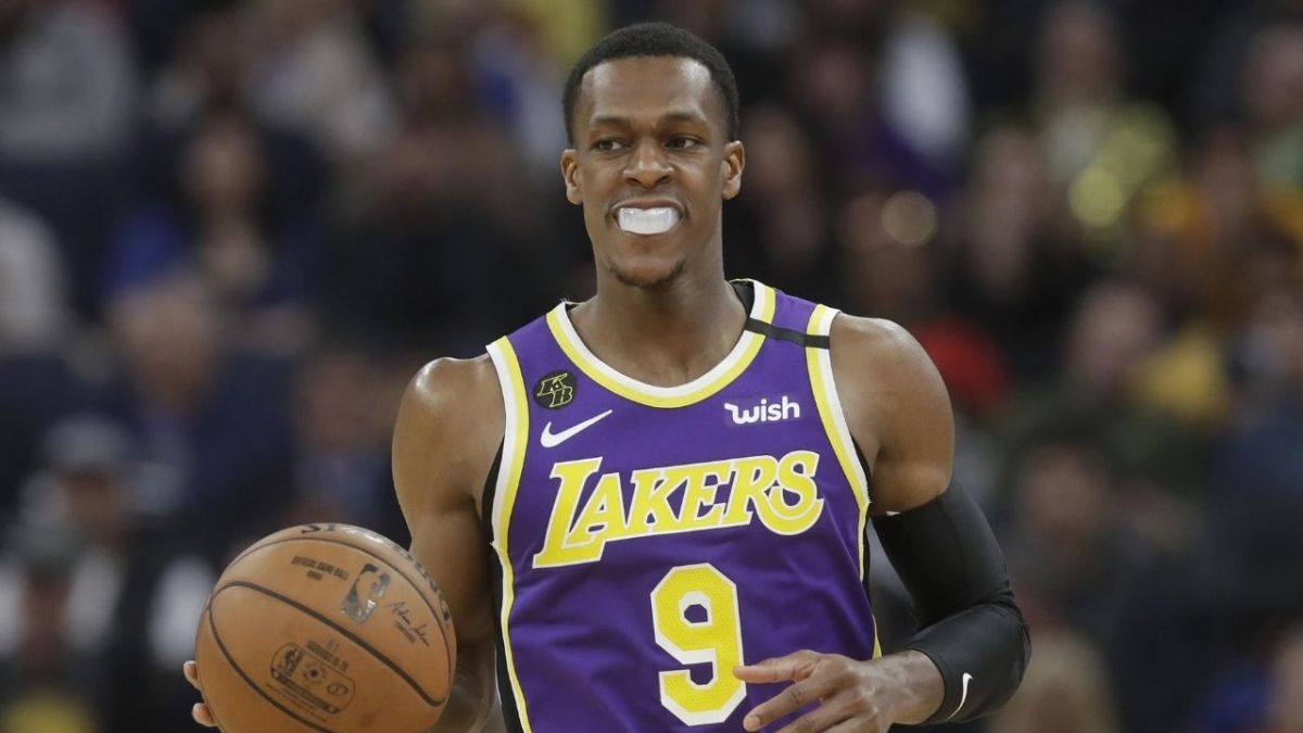 """Rajon Rondo Almost Cried During Lakers' Preseason Game Against The Nets: """"It Means Everything. I Was Away For A Year... Came Back And The Reception I Got, I Had To Try And Focus On The Game"""""""