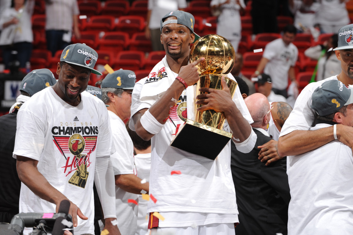"""Chris Bosh Reacts To Miai Heat's Failed 2021 Playoff Run- """"We Are Not Immune To An A** Whooping, To Be Quite Frank."""""""